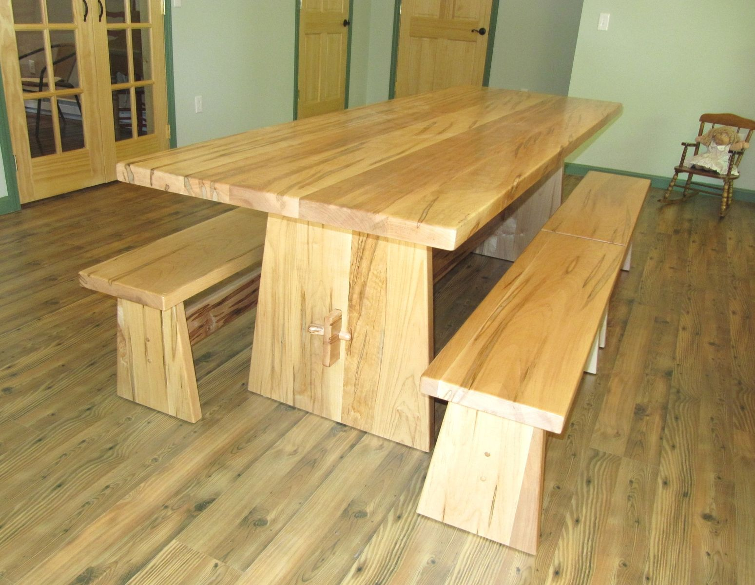 Custom Made Custom Trestle Table