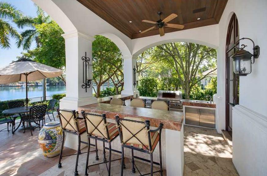 22.5 Million Waterfront Mediterranean Mansion In Coral