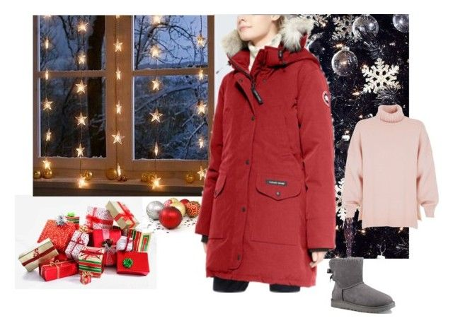 """""""Untitled #26"""" by softic013 ❤ liked on Polyvore featuring Canada Goose, UGG and TIBI"""