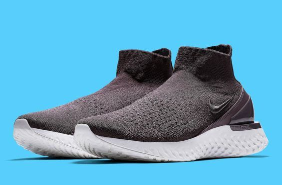 Release Date  Nike Rise React Flyknit Thunder Grey Releasing in a couple of  days 76f8171fa