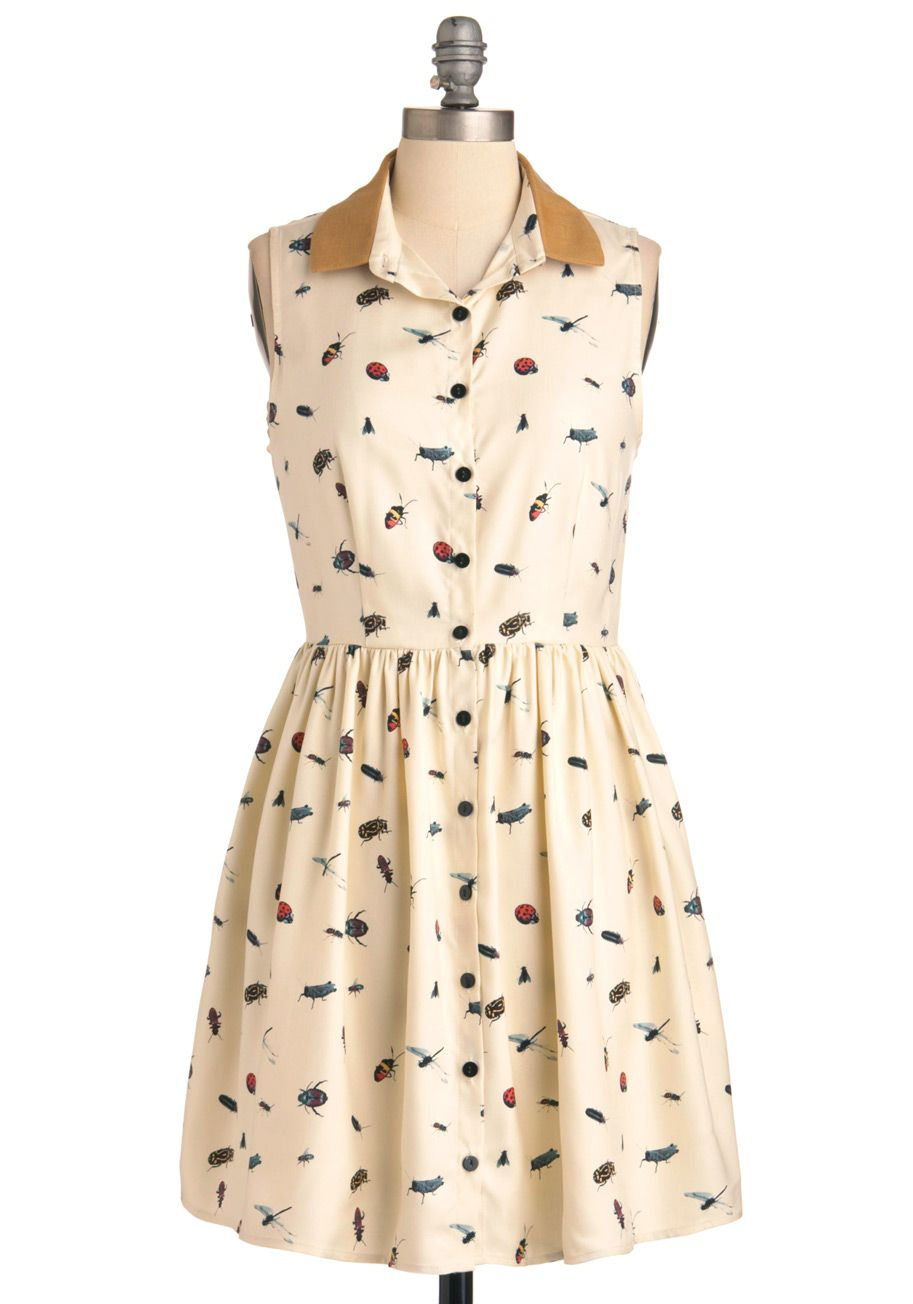 Science Print Dress