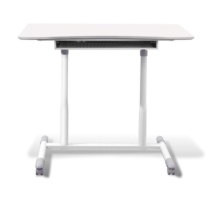 Mitros Height Adjustable Desk White Adjustable Height Desk Adjustable Standing Desk Sit Stand Desk Adjustable