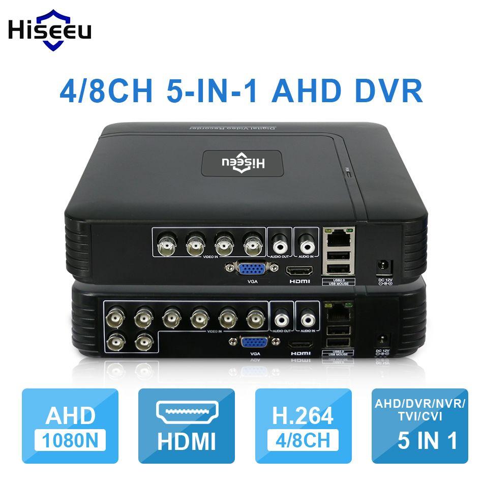 JOOAN 8CH 1080N CCTV Security IP Camera Überwachungskamera 5-IN-1 DVR Recorder