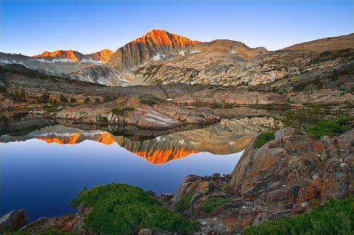 Sierra Wilderness Sunrise