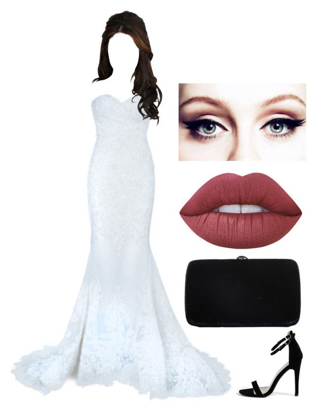 """""""Untitled #926"""" by r-redstall ❤ liked on Polyvore featuring Boohoo, Sergio Rossi and Lime Crime"""
