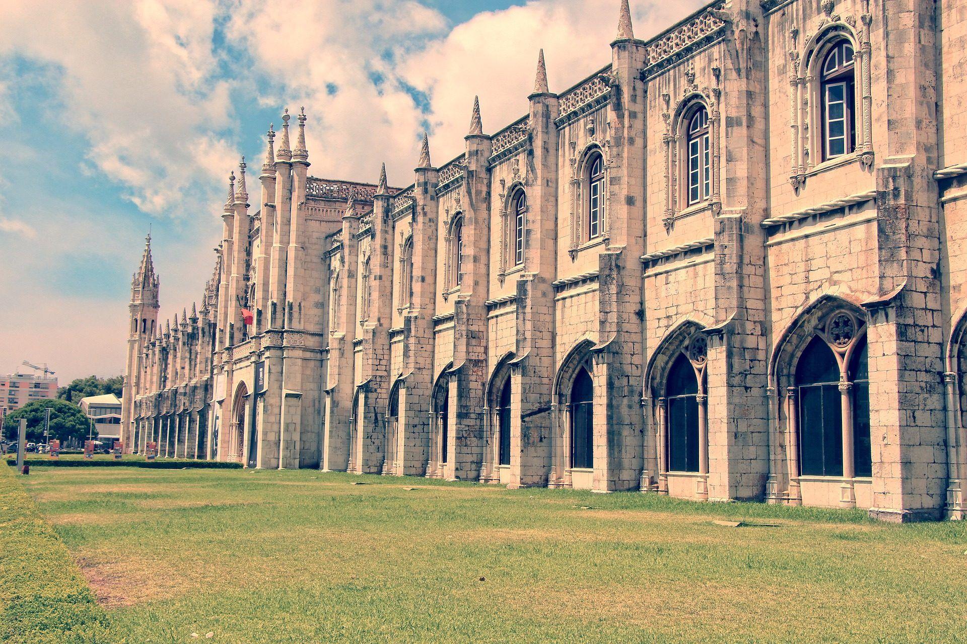 Edificio Fachada Catedral Arquitectura Lisboa 1703220821