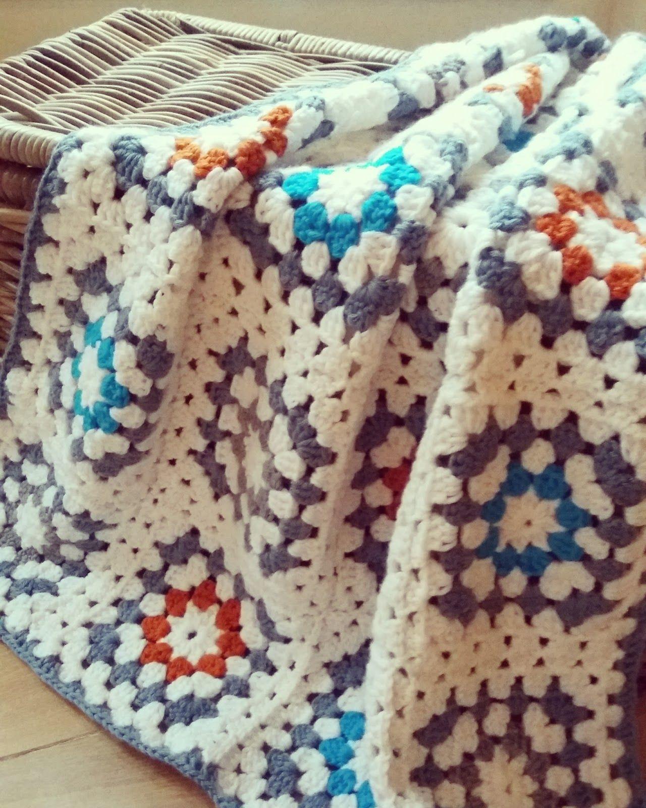 t Bezige Bijtje: Flower Power Blanket... kleine Tutorial! | Mantas ...