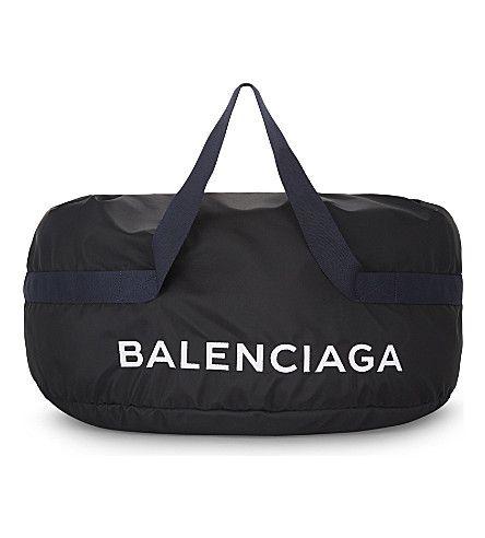 b23f806ac7d7 BALENCIAGA Wheel large nylon duffel bag.  balenciaga  bags  hand bags   nylon