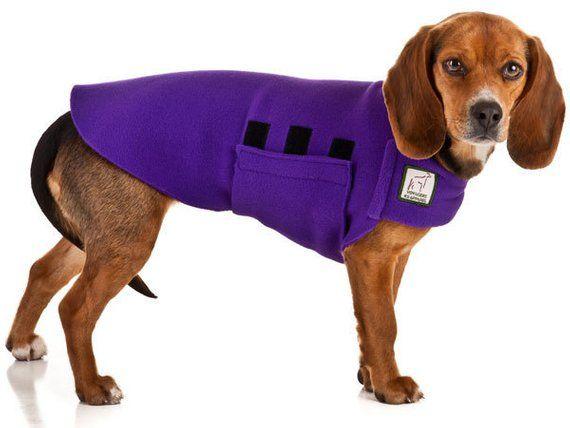 Beagle Tummy Warmer Fleece Dog Sweater Fleece Dog Jacket Fleece