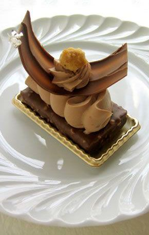 Millefeuille Jivara Gregory Collet French Pastries Fancy