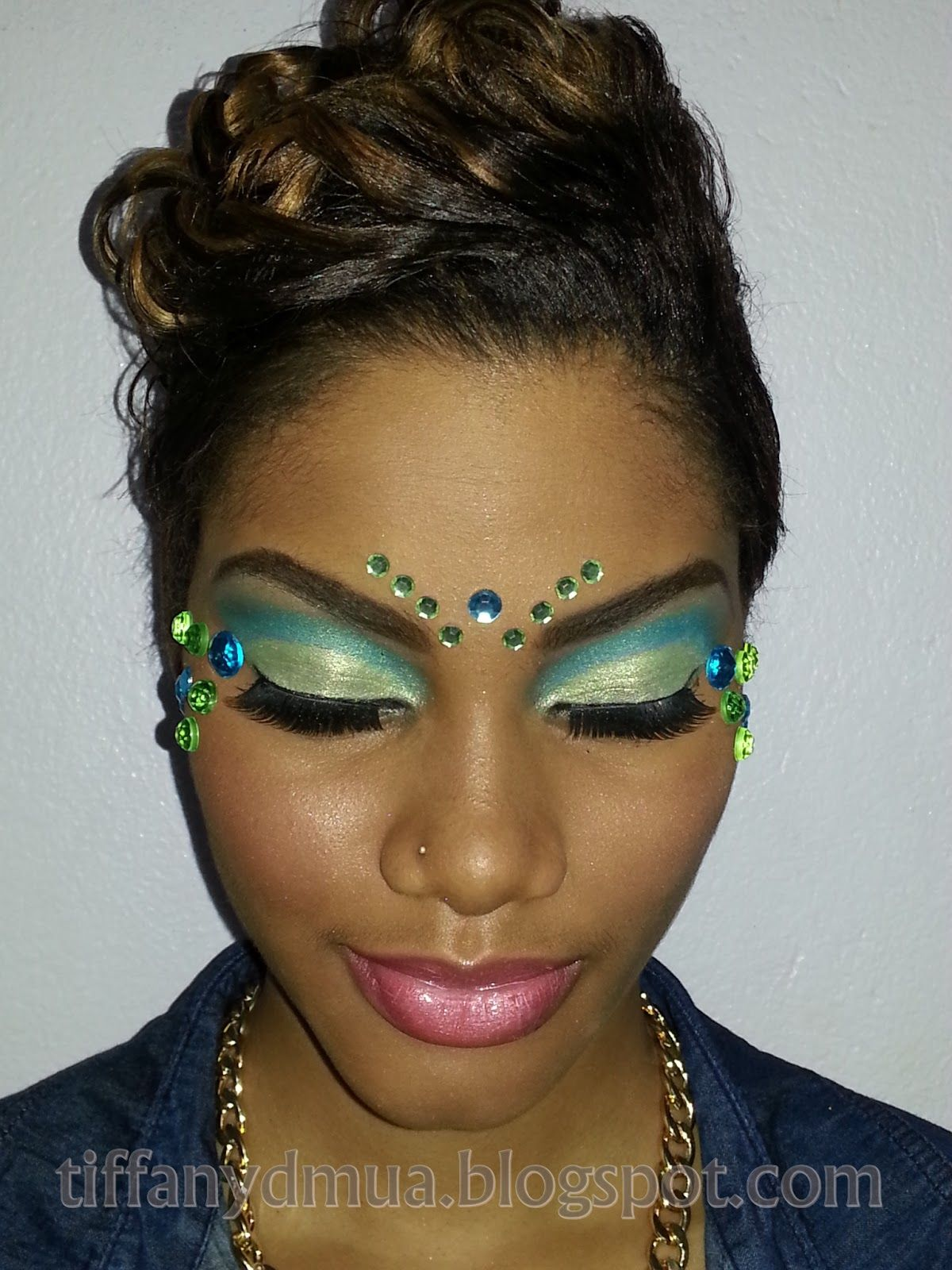 Rhinestones; Carnival Makeup Appointment …