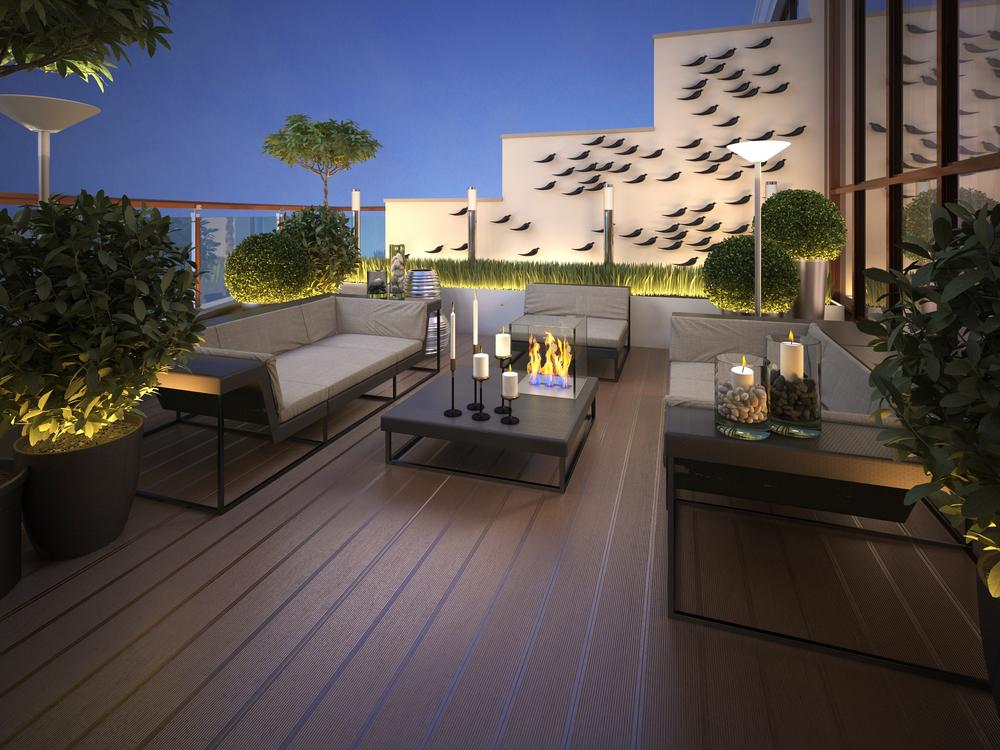 4 ideas originales para decorar una terraza urbana