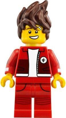 Lego Figurine Minifig Minifigurine The Ninjago Movie Ninja red Kai Kendo NEUF