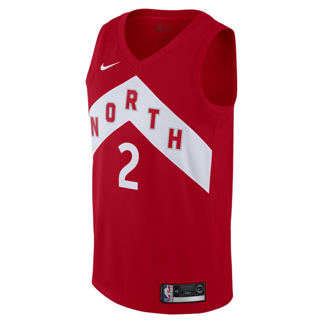 06fcc75d9157 Kawhi Leonard Earned City Edition Swingman (Toronto Raptors) Men s Nike NBA  Connected Jersey Size L (University Red)