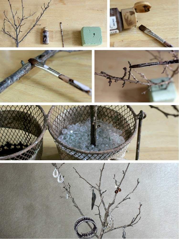 Dekorativer Schmuck Baum Selber Machen