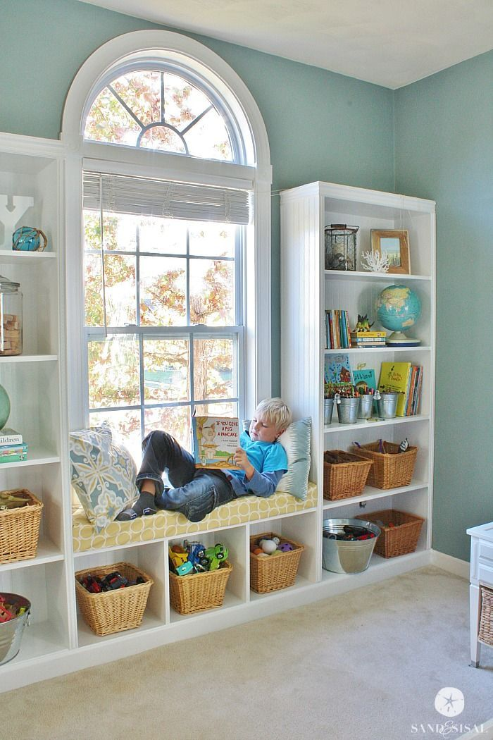 Stupendous Diy Built In Bookshelves Window Seat Built In Furniture Download Free Architecture Designs Scobabritishbridgeorg