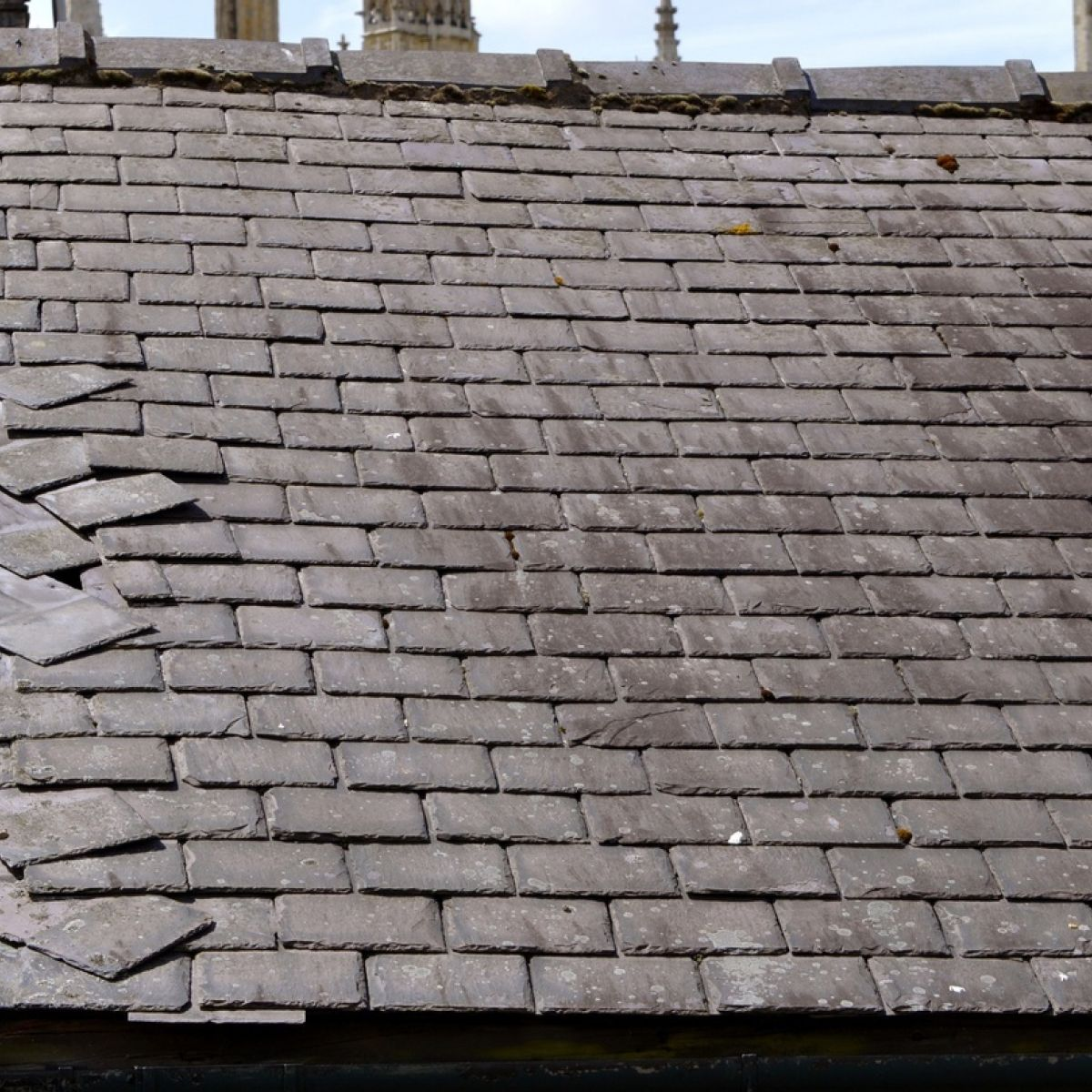 How To Fix A Loose Slate Roof Tile In 2020 Slate Roof Tiles Slate Roof Roof Tiles