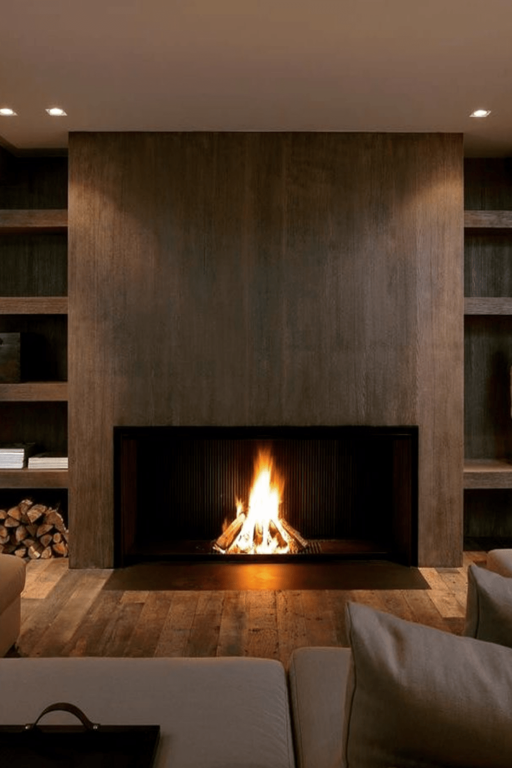 27 Modern Fireplace Design Ideas Perfect For This Winter   Modern ...