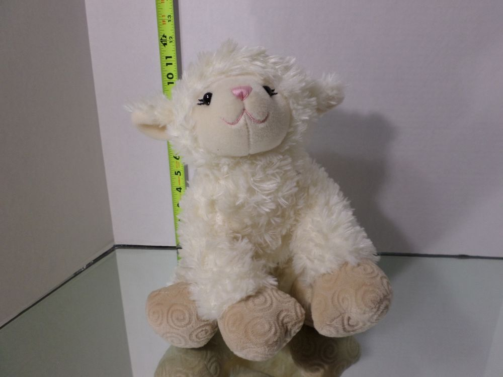 BABW Lamb Plush Stuffed Animal Sheep Farm Toy Doll Build a Bear ...