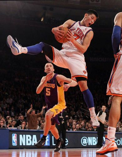 Dunk Jeremy Lin Knicks