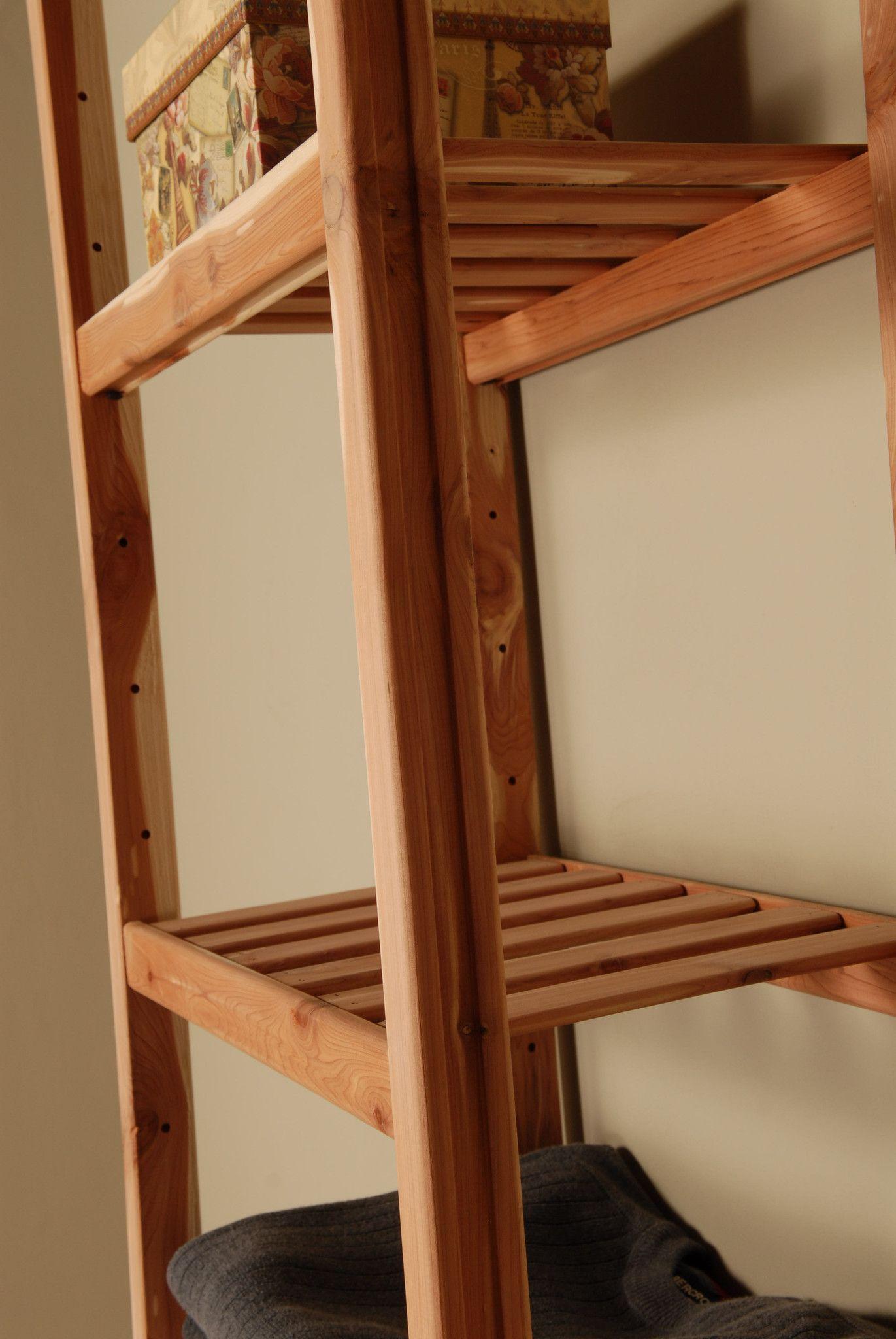 Northern Kentucky Cedar Basic Ventilated Closet Organizer