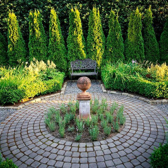 Image result for arborvitae landscaping ideas backyard for Ideas paisajismo jardines