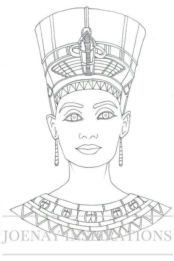 Resultado de imagen de egyptian art printables | Drawings | Pinterest