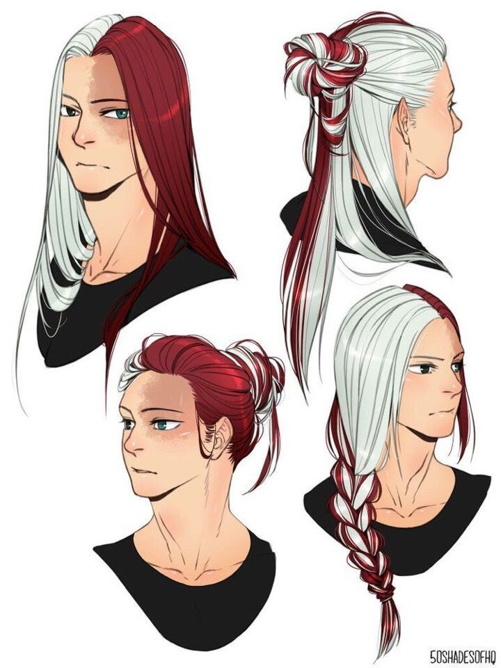 Pin Em Hair Hairstyles Drawing