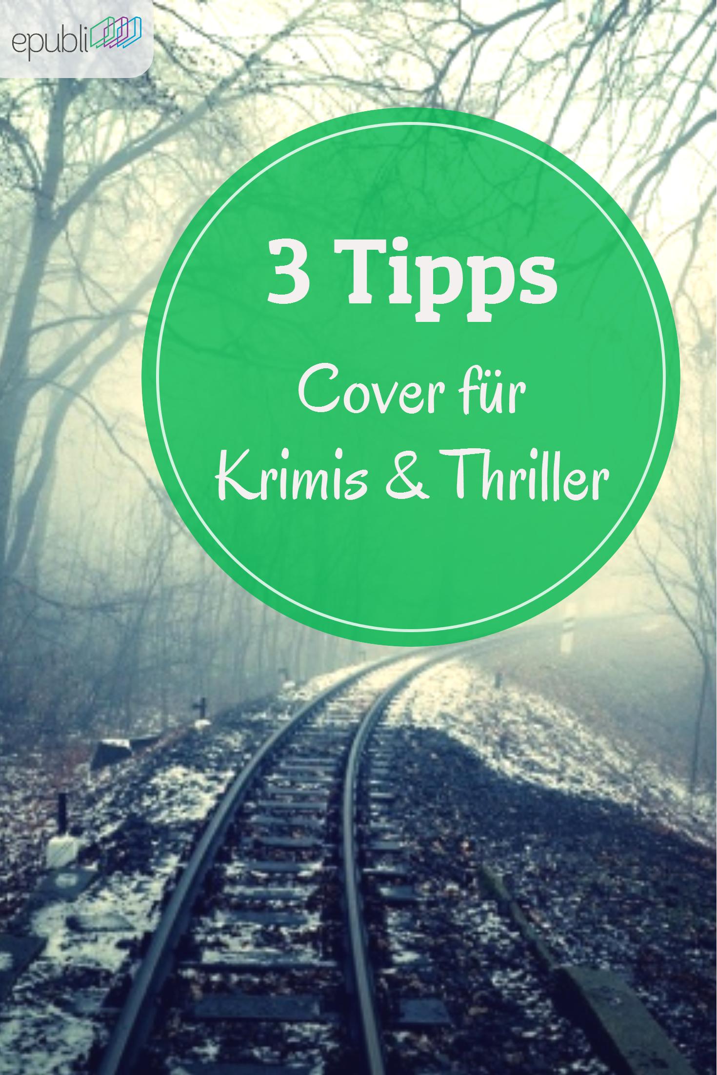 So erstellt Ihr aussagekräftige Cover für Krimis und Thriller: http://www.epubli.de/blog/genre-buchcover-krimis-und-thriller #epubli #buchgestaltung
