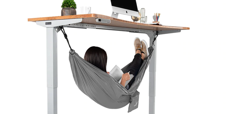 This Under Desk Hammock Is The Answer To All Of Your Office Napping Needs Best Standing Desk Standing Desk Options Uplift Desk