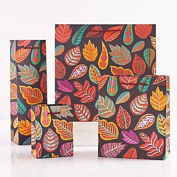 Autumn Leaves Gift Bags