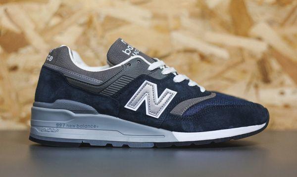 New Balance Made in USA 997 Navy/Grey | Highsnobiety | New balance ...