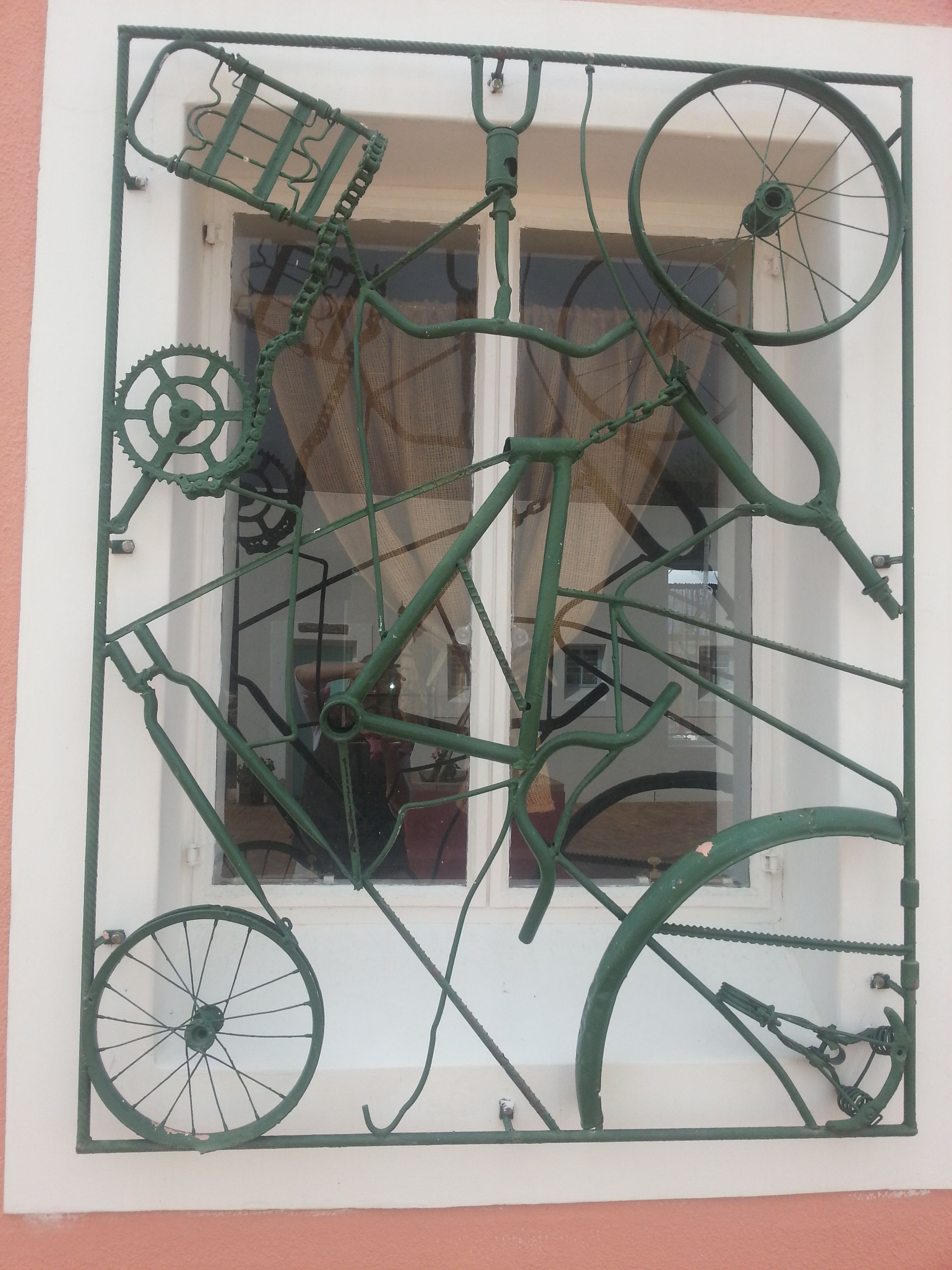 Creative Bicycle Burglar Bars That Are Fitted In South Africa They Made It To Our List Of The