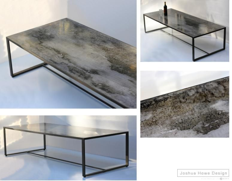 Joshua Howe Design   Acid Treated Mild Steel With A Lacquer And/or Wax  Finish. Furniture ...