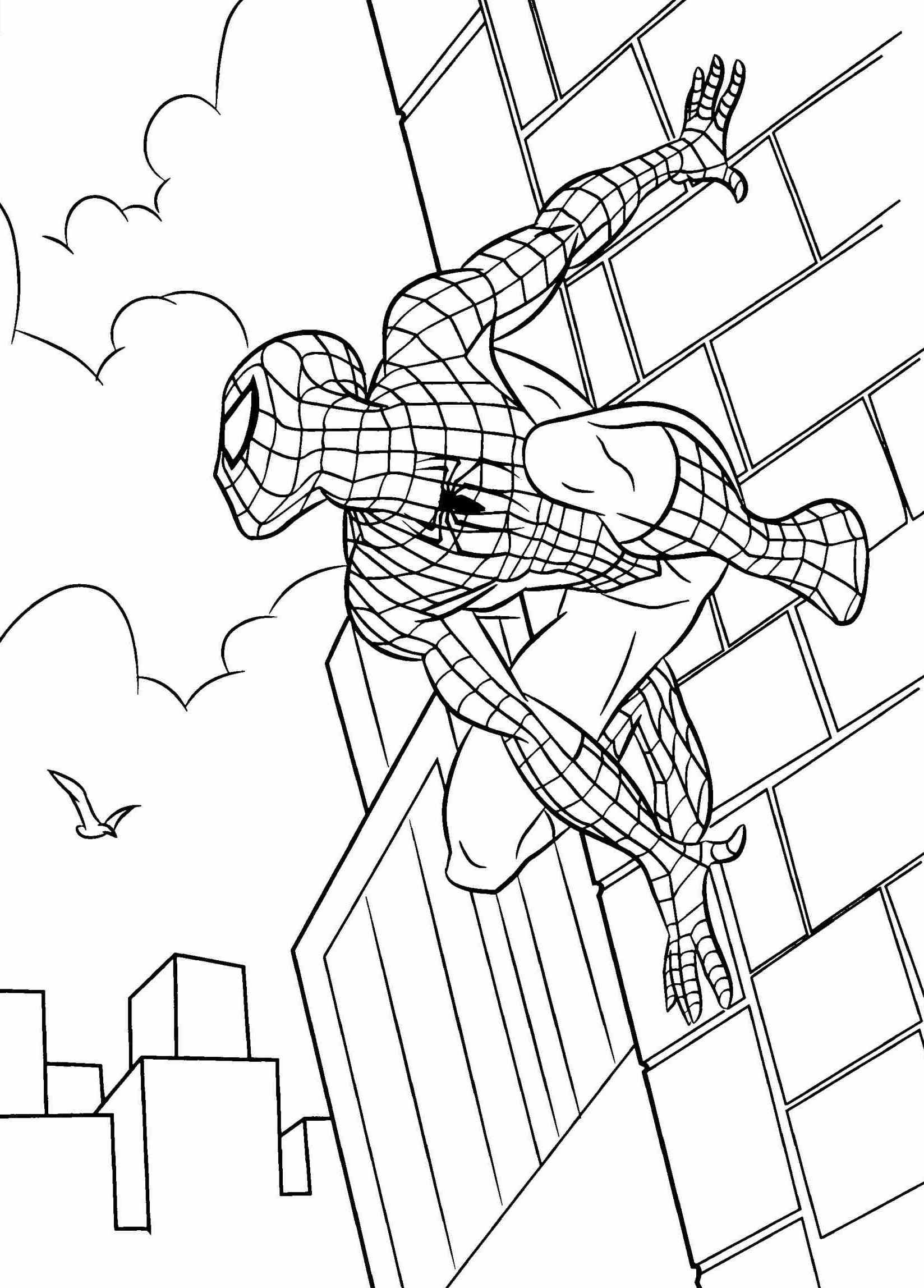 Pin by PSKPedia.com on Spiderman Coloring Pages