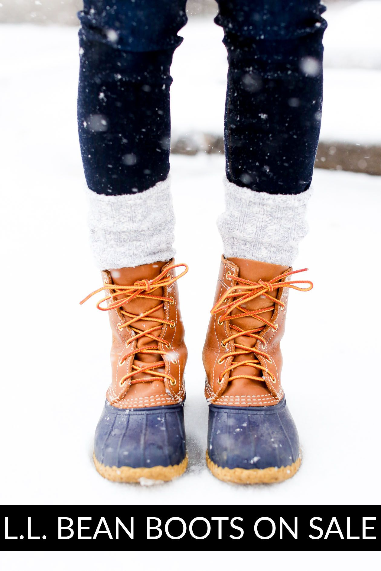 L.L. Bean Boots on Sale - Kelly in the