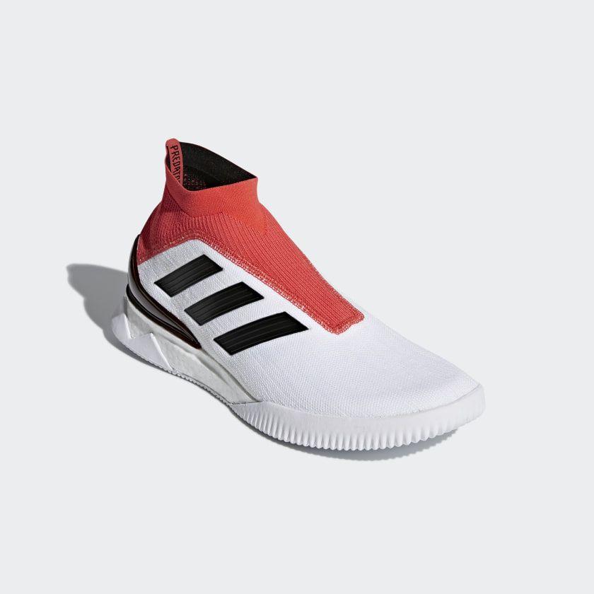 2a75a7e8d39e Predator Tango 18+ Shoes Cloud White   Core Black   Real Coral CM7686
