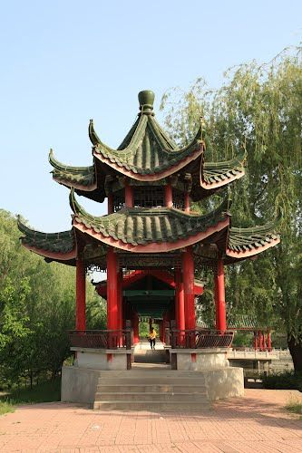 Panoramio Photo Of A Very Traditional Chinese Pavilion Chinese Architecture Terrace Building Architecture