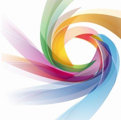 Colorful Abstract Design Vector Graphic Brosur Bingkai