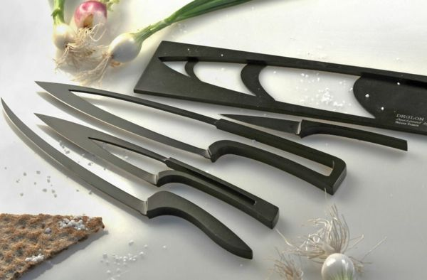 the deglon meeting is the kitchen knife set of any modern chef designed by mia - Modern Kitchen Knives