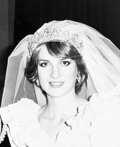 Tea Time At Winter Palace: Lady Diana Spencer On Her