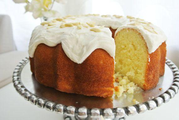 almond cake bizcocho mojadito de almendra estilo puerto
