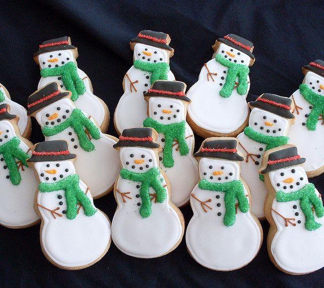 images of snowmen cookies | Snowman cookies | Flickr - Photo Sharing!