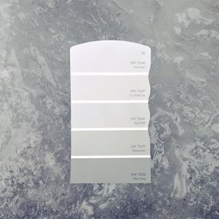 Crushed Ice Paint Color Sw 7647 By Sherwin Williams View