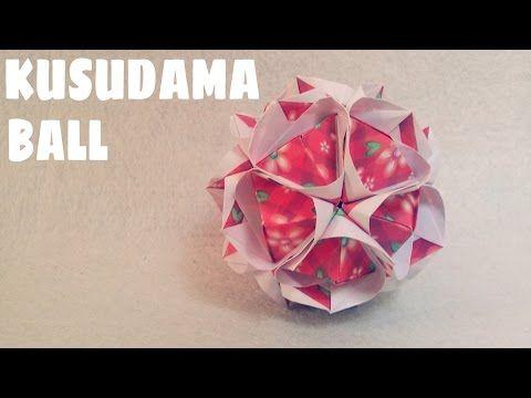 Origami Ball Instructions Kusudama Ball Origami Easy Youtube