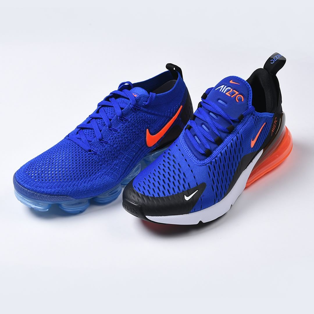 new product 16551 2546e Nike Racer Blue Pack - Vapor Max 2.0 + Air Max 270 ...