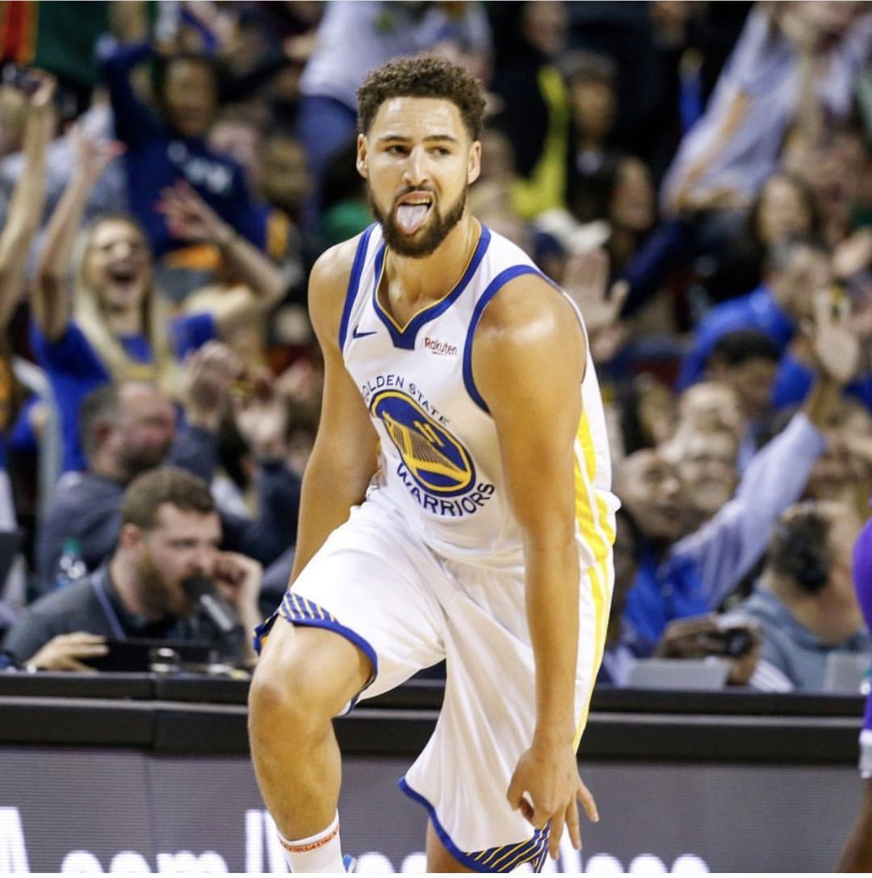 The Warriors Head To Seattle For The First Time In 10 Years As They Take On The Kings For Another Preseason Game Klay Thompson Basketball Star Splash Brothers