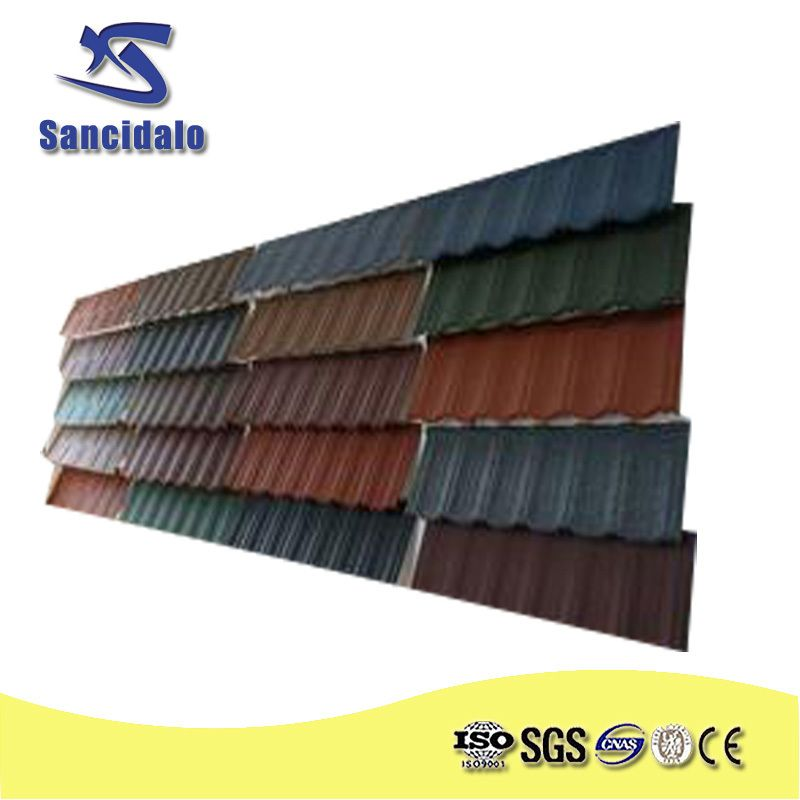 Natural Color Harvey Metal Roofing Tiles With High Quality