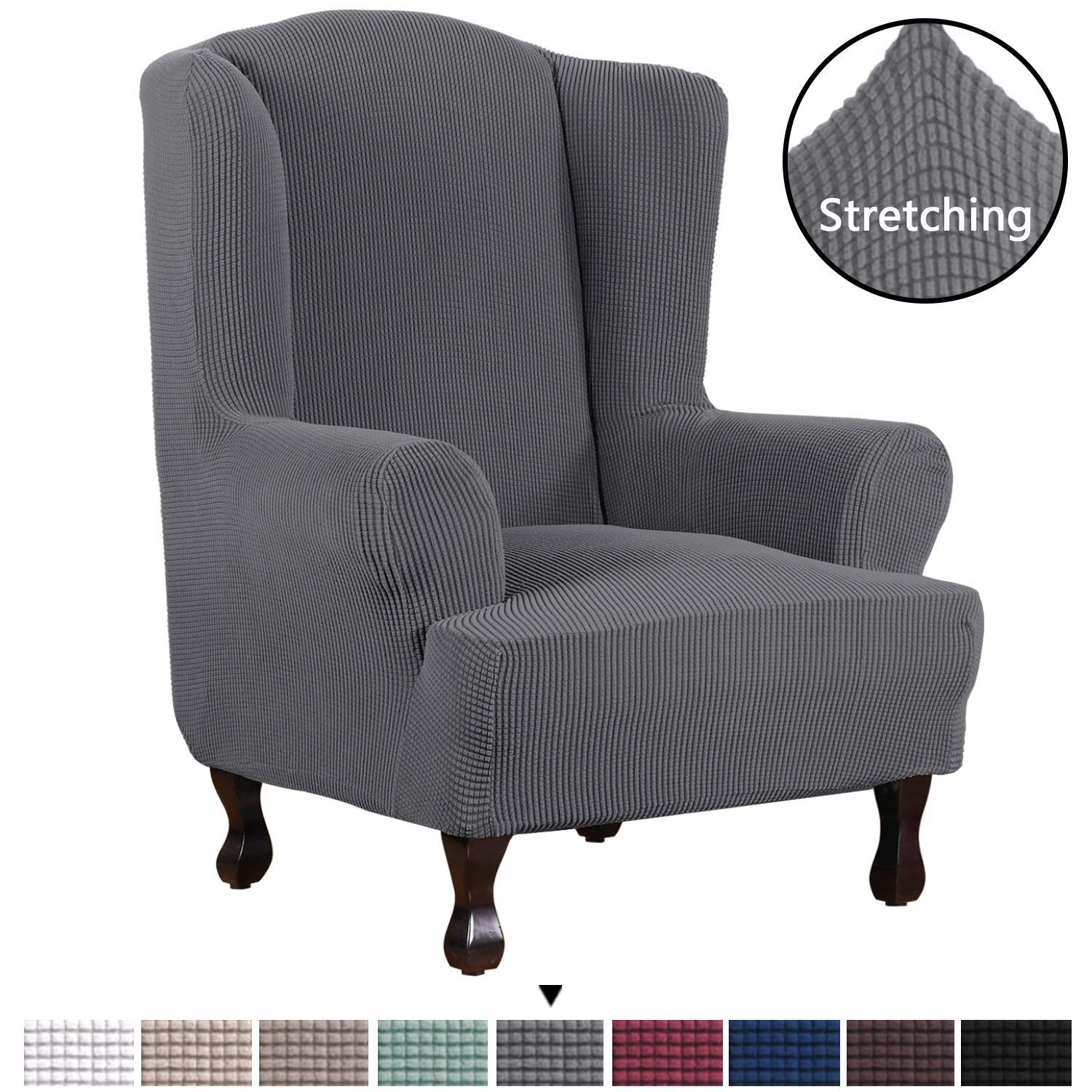 Top 10 Best Slipcovers For Wingback Chairs Reviews in 2020