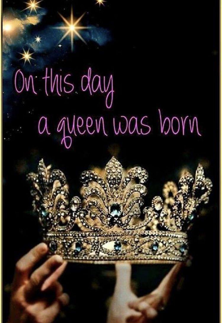 Katarina~Queen was born  Happy birthday wishes quotes, Birthday